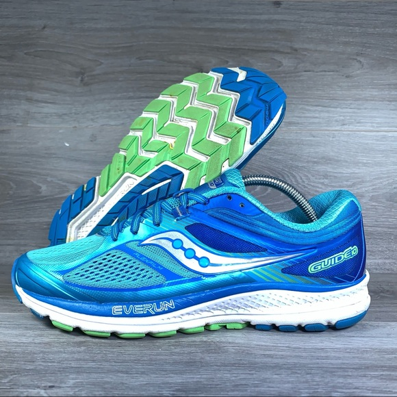 b9c4edb103 Saucony Women's Guide 10 Running Shoes Blue